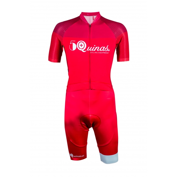 Cycling Suit Pro Light Rouge